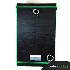 kit chambre de culture led pack box 120x120x200 black led panel 1x200w indoor factory