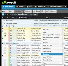 sample bug report what s new in axosoft v16 2 ux improvements axosoft do more in bulk limit of up to 100 items
