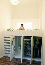 Plans For Building A Loft Bed With Storage by Twin Loft Bed With Storage Underneath Foter