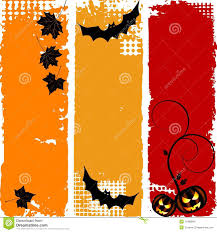 halloween vertical banners set stock images image 11099664