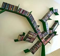 green tree grows bookshelf design organize pinterest
