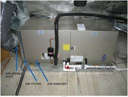 air handlers in heating or air conditioning hvac units air
