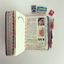 travel notebook images Artist fills traveler 39 s notebook with intimate visual diary jpg
