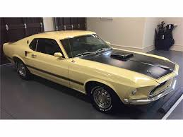 Mustang Mach One 1969 Ford Mustang Mach 1 For Sale Classiccars Com Cc 958880