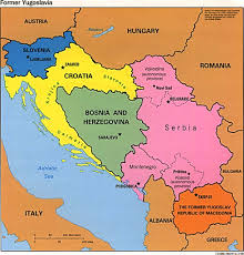 Europe Mountains Map by Montenegro Map Of Europe Map Of The Former Yugoslavia
