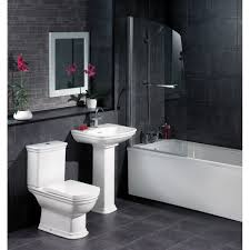 black and grey bathroom ideas terrific black white grey bathroom ideas with undermount bathtub