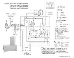 trane heat pump wiring diagram thermostat circuit and schematics