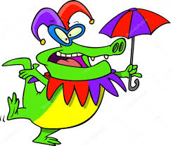 mardi gras alligator mardi gras gator stock vector ronleishman 13949730
