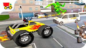 monster truck videos free car racing games monster truck robot transform gameplay