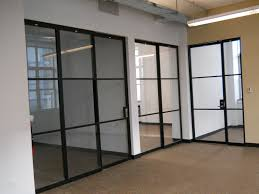 glass partition walls for home awesome partition wall betweem kitchen and dining room home pic