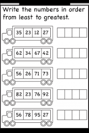 numbers u2013 ordering free printable worksheets u2013 worksheetfun