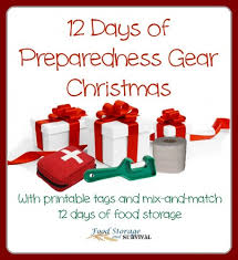 twelve days of christmas u2013preparedness gear