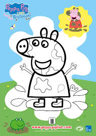 win peppa pig live tickets free coloring sheet macaroni kid