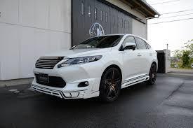 sporty lexus sedan tuned toyota harrier by rowen looks like a sporty lexus rx