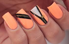 rainbow nail art by zomijas paint all the nails pinterest my nail