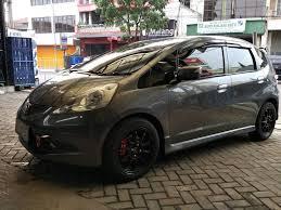 mobil honda jazz trend modifikasi velg mobil honda jazz tkb group indonesia