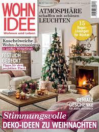 wohnidee zeitschrift wohnidee 12 2016 deko ideen zu weihnachten