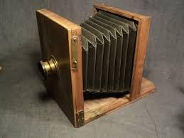 chambre appareil photo ancienne chambre photographique en bois objectif en laiton appareil