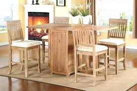 table with chair storage folding kitchen table with chair storage a