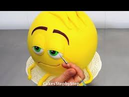 cake how to emoji cake how to make by cakes stepbystep