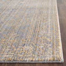 grey gold area rug modern home