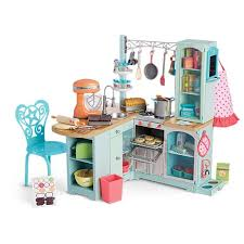 american doll dining table gourmet kitchen set 18 inch doll kitchen american
