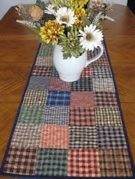 winter table runner laugh winter quilt table