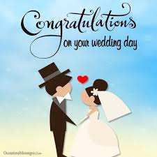 wedding day congratulations wedding wishes for occasions messages