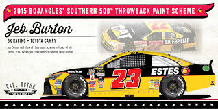 paint schemes retro rundown throwback paint schemes for the southern 500 nascar