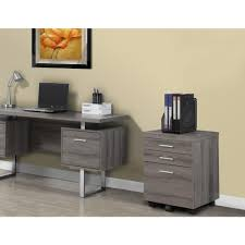 Home Office Lateral File Cabinet by Monarch Specialties 3 Drawer File Cabinet With Castors In Dark