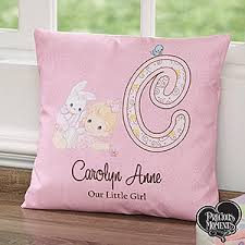 personalized pillows for baby personalized baby pillow 14 precious moments baby gifts
