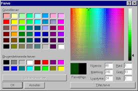 web safe colours
