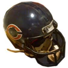 helmet design game career worn walter payton s game worn helmet from the payton family