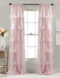 Amazon Window Curtains by Amazon Com Lush Decor Nerina Window Curtain 84 By 54 Inch Pink