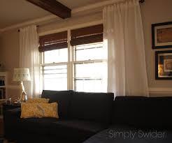 curtains ikea vivan white curtains inspiration window treatments