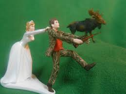 funny camo wedding cake toppers us air force military funny