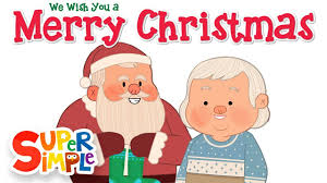 we wish you a merry simple songs