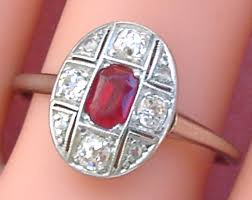 small ruby rings images Vintage estate ruby and diamond rings gorgeous gems and jewelry jpg