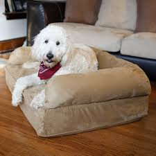 snoozer luxury dog sofa with memory foam hayneedle