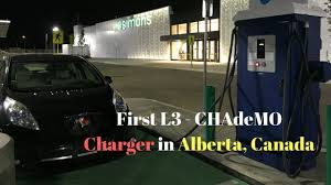 nissan leaf fast charger charging my leaf at a dc fast charger first in alberta youtube