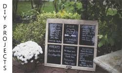 Mason Jar Wedding Programs A Vintage Diy Wedding Hometalk