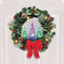 Color Changing Christmas Trees - color changing christmas tree wreath from collections etc