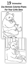 coloring pages zoo animals olegandreev me