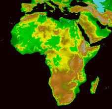 africa map elevation map news africa elevation map