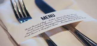 idee original pour mariage inspiration mariage un menu original
