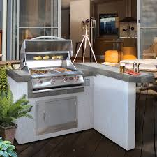 Bull Bbq Island Cal Flame Outdoor Kitchen 4 Burner Barbecue Grill Island With