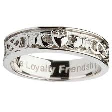 sterling wedding rings images Gents sterling silver claddagh wedding ring irish crossroads jpg