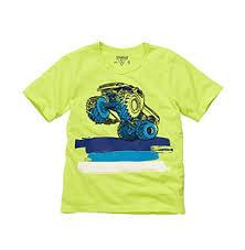 boy u0027s shirt osh kosh kids shirt boys monster truck tee