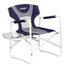 Folding Directors Chair With Side Table Camping Chairs And Stools From Anaconda With Over 80 Options