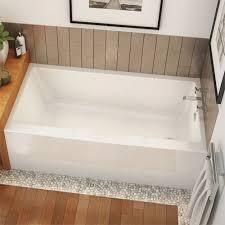 Maxx Bathtub Rubix 6032 Ifs Rectangular Soaking Bathtub In Alcove Installation